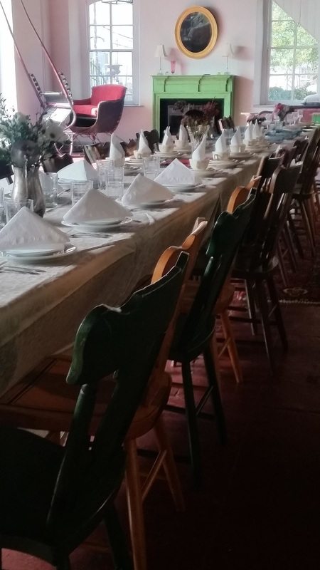 carriage house of port deposit wedding dinner