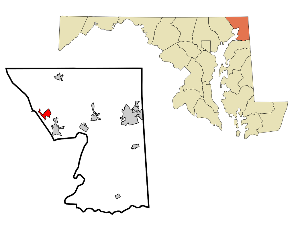 map of port deposit maryland